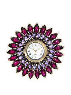 Olivia Riegel Pewter Amethyst Dahlia Desk Clock, http://www.myhabit.com/redirect/ref=qd_sw_dp_pi_li?url=http%3A%2F%2Fwww.myhabit.com%2F%3F%23page%3Dd%26dept%3Dhome%26sale%3DA30NW9CG8H3CT%26asin%3DB00FB3A4WU%26cAsin%3DB00FB3A4WU