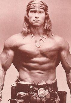 Movies - Arnold Schwarzenegger as Conan the Barbarian