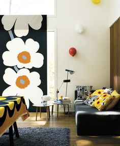Marimekko's spring/summer 2014 interior decoration collection.