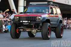 2012_SEMA_Cruise_Hot_Rod_Jeep_cherokee_XJ Photo on November 6, 2012