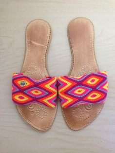 Handmade in Colombia Flip Flop Sandals, Flip Flops, Handmade Bags, Slippers, Flats, Collections, Shopping, Shoes, Diy