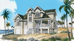 House Plan The Seabrook by Donald A. Gardner Architects