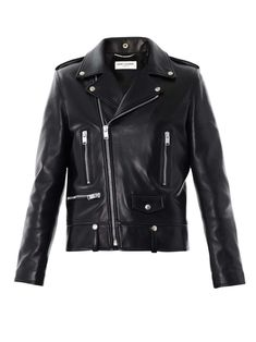 Saint Laurent Leather biker jacket | under cover | mens leather biker jacket | menswear | mens style | mens fashion | wantering http://www.wantering.com/mens-clothing-item/leather-biker-jacket/afUNy/