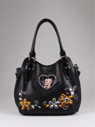 Available @ TrendTrunk.com Glamerous . By Betty Boop Licensed Handbag. Only $56.00!