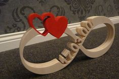 Infinity Sign with date + heart of wood – Inkesworld Infinity Sign with date + heart of wood Unendlichkeitszeichen mit DatumHerzen aus Holz Painting Quotes, Painting On Wood, Wood Projects, Woodworking Projects, Wood Crafts, Diy And Crafts, Wood Carving Patterns, Diy Wood Signs, Scroll Saw Patterns