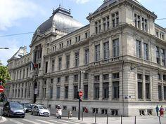°Lyon - Bâtiment de l'université de Lyon construit par l'architecte Abraham Hirsch, 1890-1896.