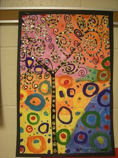 Gustav Klimt Artist Exploration-http://www.klimt.com/ working with abstract art. Could possible recreate with different materials. How could you use oil or chalk pastel or paints to create different textures or feelings? Is this possible to create using plasticine?