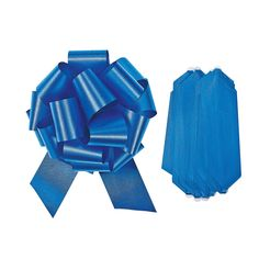 Blue Wedding Pull Bows - OrientalTrading.com