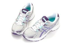 Asics women's Gel-Contend Running Shoes, Lightning-Purple-Blue