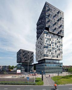 La Liberté, Groningen, The Netherlands, Dominique Perrault Architecture.