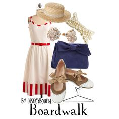 I would love to have this collection by DisneyBound titled Boardwalk.
