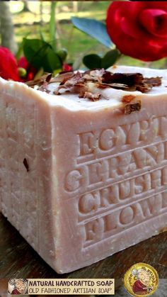 Artisan Natural Handcrafted Organic Soap Grandma's All Natural Handmade Cold Process Skin Care Benefits Body face and Hand Soap Container Gardening Vegetables, Succulents In Containers, Container Flowers, Container Plants, Vegetable Gardening, Coffee Soap, Decorative Soaps, Rose Soap, Organic Soap