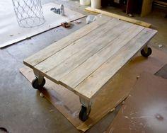 Easy DIY Coffee Table