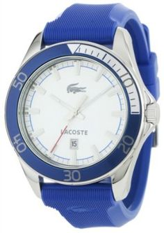 Relógio Lacoste Sport Navigator White Dial Blue Mens Watch 2010551 #Relógio #Lacoste