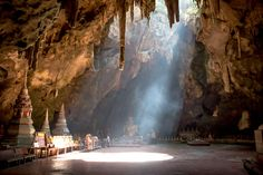 Khao Luang caves in Thailand