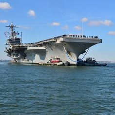 Welcome home George H. W. Bush Carrier Strike Group!