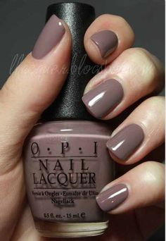 Gray/Purple Nails are perfect for a relaxed and classic look!