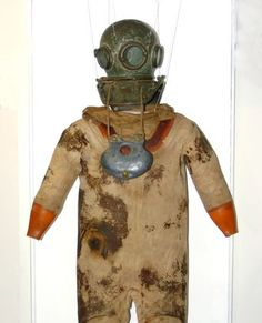 British diver's suit.