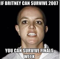 I needed this. Let finals week begin!