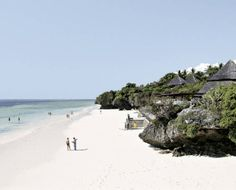 LEOPARDS BEACH RESORT- is one of the most beautiful and best hotels on Kenya's coast. The hotel is located on the white, sandy shores of Diani Beach surrounded by coral coves nestling in between cliffs covered in flowering vegetation and large tropical gardens. While walking down the two flights of stairs to the beach, a grand, panoramic view of the ocean unfolds.  The hotel consists of 155 rooms. Diani Beach, Tropical Gardens, Mombasa, Leopards, East Africa, Beach Resorts, Best Hotels, Two By Two, Coast