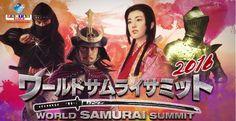 """Reserve em sua agenda: """"World Samurai Summit"""" - encontro mundial de Samurais! Evento gratuito."""