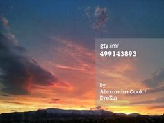 Low Angle View Of Cloudy Sky During Sunrise Stock-Foto 499143893