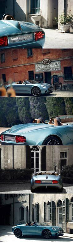 Meet the visionary concept created by MINI and Touring Superleggera #bmw #mini
