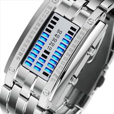 JECKSION High Quality Stainless Steel Womens Watches Luxury Led Digital Watch Mens Top Brand Waterproof Military Sports Watch