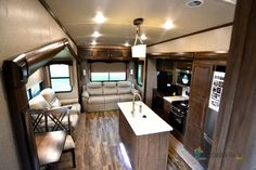 New 2019 Forest River RV Cedar Creek Silverback Fifth Wheel Furniture Packages, Forest River Rv, Cedar Creek, Campers For Sale, Fifth Wheel, Big Daddy, London, Home Decor, Decoration Home