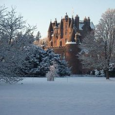 Glamis castle, Scotland                                                                                                                                                                                 More