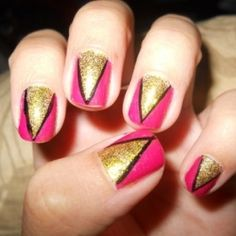 Easy Colorful Nail Art Designs - Pull out all your manicure tricks and sport these easy colorful nail art designs. Use a high street nail kit to create the most dazzling prints and patterns that can immediately boost the prominence of your nails. Let creativity guide you through this fab makeover and feel free to experiment with the simple together with complex nail style ideas.