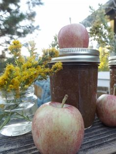 to Make Apple Butter- Easy Canning Instructions How to make homemade Apple Butter. So easy a first time canner can do it!How to make homemade Apple Butter. So easy a first time canner can do it! Apple Butter Canning, Canning Apples, Easy Canning, Homemade Apple Butter, Home Canning, Canning Recipes, Old Fashioned Apple Butter Recipe, Wie Macht Man, Jam And Jelly