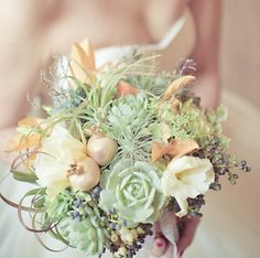 #Mint Green Wedding Bouquet... Wedding ideas for brides, grooms, parents & planners ... https://itunes.apple.com/us/app/the-gold-wedding-planner/id498112599?ls=1=8 … plus how to organise an entire wedding ♥ The Gold Wedding Planner iPhone App ♥ http://pinterest.com/groomsandbrides/boards/