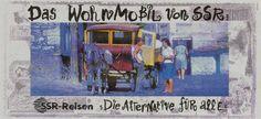 Read more: https://www.luerzersarchive.com/en/magazine/print-detail/9840.html SSR´s mobile homes. Claim: SSR Travels. The alternative for everybody. Tags: Guye Marketing & Kommunikationsberatung, Zurich,Partick Rychner,Daniel Müri,Peter Rettinghausen,Forte