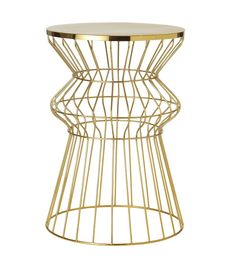 Target's New Threshold Brass Table Spring 2013