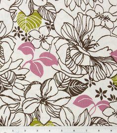 45'' Home Essentials Fabric-Elsinore Panorama Mocha