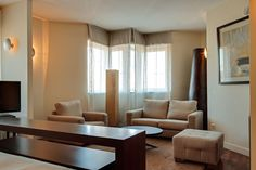 Salón suite Rafaelhoteles #Atocha