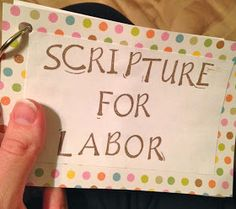 Graceful Little Honey Bee: 10 Encouraging Verses for Labor and Delivery