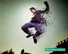 Создание лёгкого эффекта брызг в Фотошопе