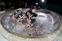 d*face spraypaint skateboarding at ridiculous