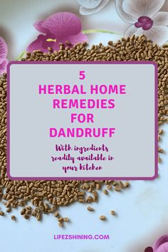 Herbal home remedies for dandruff try without spending extra money ingredients from kitchen coconut milk coconut oil hibiscus fenugreek onion etc . Flaky Scalp, Oily Scalp, Home Remedies For Dandruff, Herbal Remedies, Best Hair Conditioner, Onion Juice, Pure Coconut Oil, Mild Shampoo, Medicinal Plants