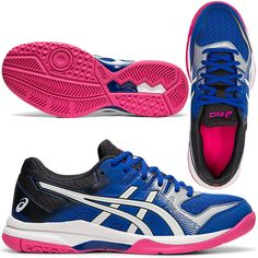 Face down any opponent in the women's GEL-ROCKET™ 9 indoor sports shoe by ASICS. With forefoot GEL® technology for shock absorption and lasting comfort, this versatile shoe has the features you need to put in an outstanding performance. Extra cushioning is provided by the springy EVA midsole, with added rebound properties to give you a real boost as you race across court. All Volleyball, Gel Cushion, Face Down, Asics Women, Rebounding, Sports Shoes, Indoor, Technology, Nike