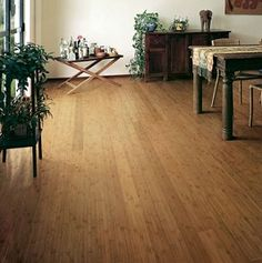 Cleaning Bamboo floors: Use a solution made from 1/4 cup of white vinegar mixed with 1 quart of warm tap water. Dampen a mop with the solution and mop a small area at a time. As you go, dry the section using a clean, soft towel. Do not over wet the bamboo floor. Although bamboo has tropical origins and can resist moisture, bamboo flooring must not be exposed to excessive moisture.