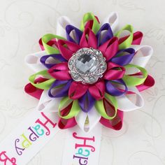 Birthday Party Decorations Happy Birthday by PetalPerceptions