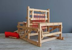 Rare Swedish Brio Table Loom by OceanSwept on Etsy