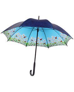 """Leighton """"Daisy"""" Navy Umbrella is on Rue. Shop it now."""
