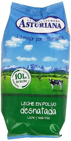 7,10€ - Central Lechera Asturiana - Leche en polvo - Desnatada - 1 kg
