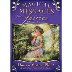"""Fairies are beloved """"nature angels"""" who, since they're so close to the earth, are brilliant at healing and helping with everyday concerns such as relationships, health issues, and finances. Add some spice to your garden with a little help from the fairies. This is one of my favorite card decks! $10.85 http://amzn.to/IUCOdH"""