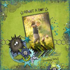 About a Boy by Fayette Designs - Digishoptalk - The Hub of the Digital Scrapbooking Community