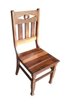 Cadeira Rústica Oásis em Madeira de Demolição - Cód 1838 - Bancos e Banquetas - Madeira de Demolição - Barrocarte